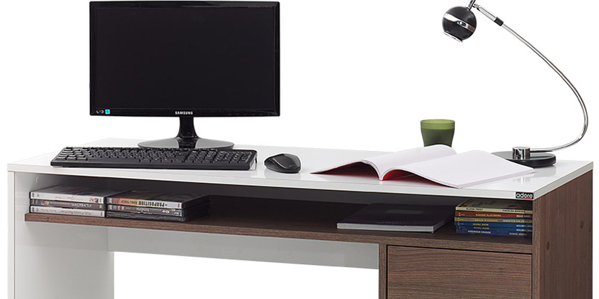 Kinetic Pro, birou pentru calculator cu designu ergonomic si elegant