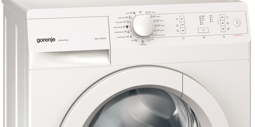 Gorenje W6202S, masină de spălat cu un consum foarte mic, clasa A++