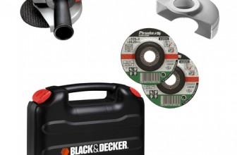 Polizor unghiular Black&Decker CD115KAX